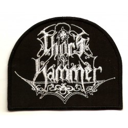 Thor's Hammer Embroidered Patch