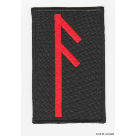 Rune Ansuz embroidered Patch