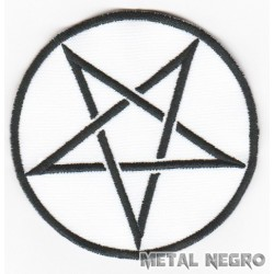 Pentagram symbol baphomet Embroidered Patch