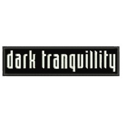 Dark Tranquillity Embroidered Patch
