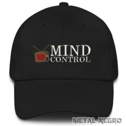 Mind Control Embroidered Cap
