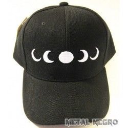Moon Phases Embroidered Cap