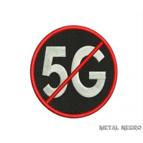 no 5g Embroidered Patch