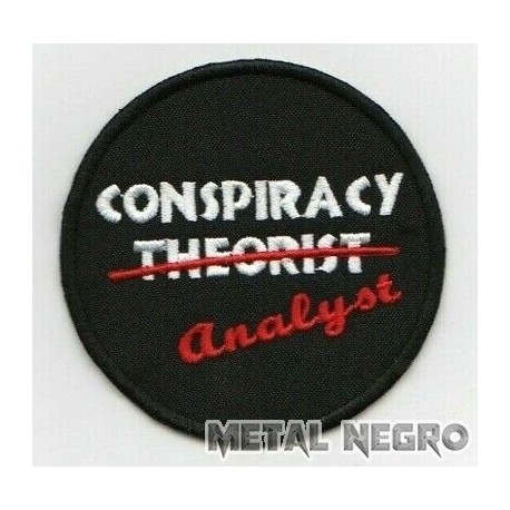 conspiracy theorist Embroidered Patch