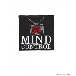 Mind Control  tv embroidered patch