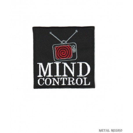 Mind Control Embroidered Patch