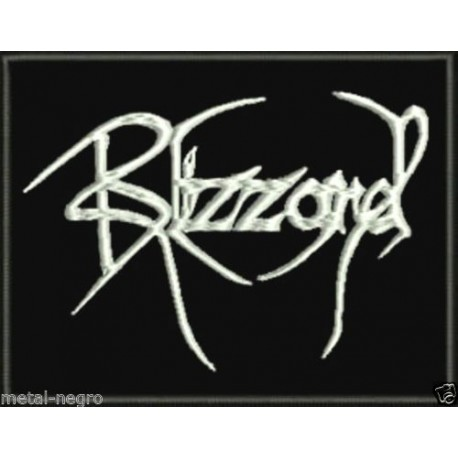 Blizzard Embroidered Patch