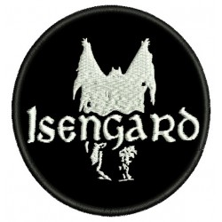 Isengard Embroidered Patch