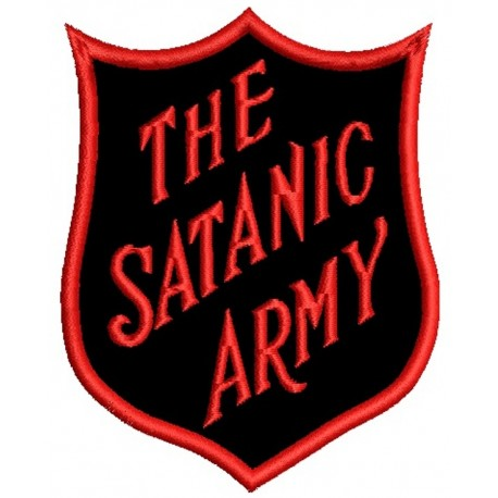 The Satanic Army Embroidered Patch