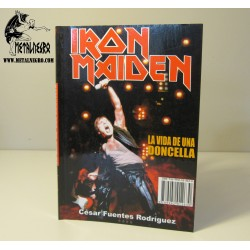 Iron Maden - La vida de una doncella - The voyage of the Maiden Book spanish edition + CD