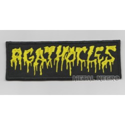 Agathocles Embroidered Patch