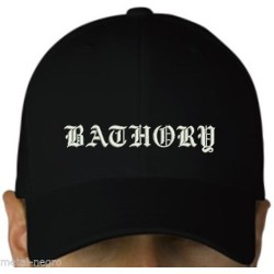 Bathory Embroidered Cap