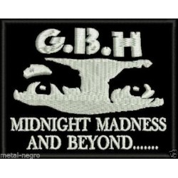 GBH embroidered patch
