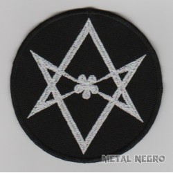 Unicursal Hexagram embroidered patch