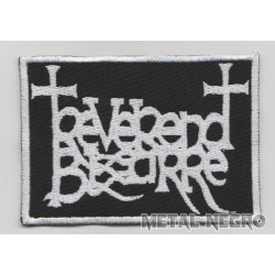 Reverend Bizarre embroidered patch