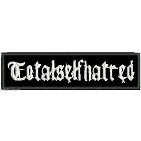 Totalselfhatred  embroidered patch