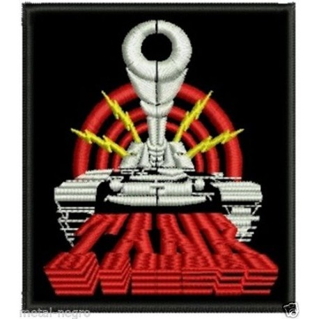 Tank embroidered patch
