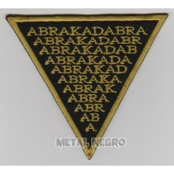 Abracadabra embroidered patch