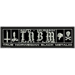 True Norwegian Black Metal Taake back patch