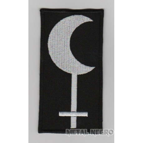 Lilith dark moon embroidered patch