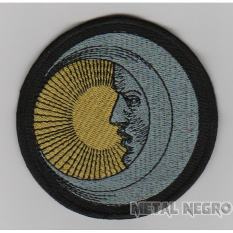 Eclipse moon sun embroidered patch
