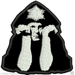 Aleister Crowley embroidered patch