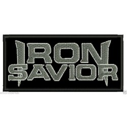 Iron Savior embroidered patch