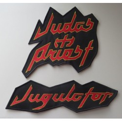 Judas Priest Jugulator embroidered Back Patches
