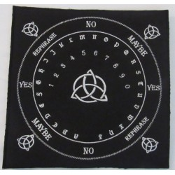 Triquetra Pendulum mat Embroidered Back Patch