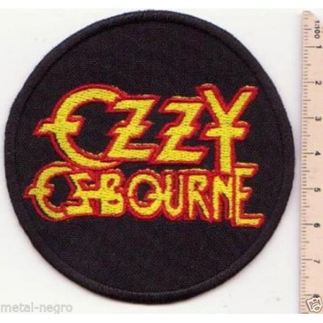 Ozzy Osbourne Embroidered Patch