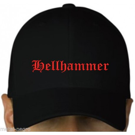 Hellhammer embroidered cap