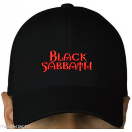 Black Sabbath embroidered cap