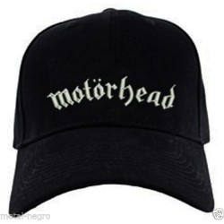 Motorhead Embroidered Cap
