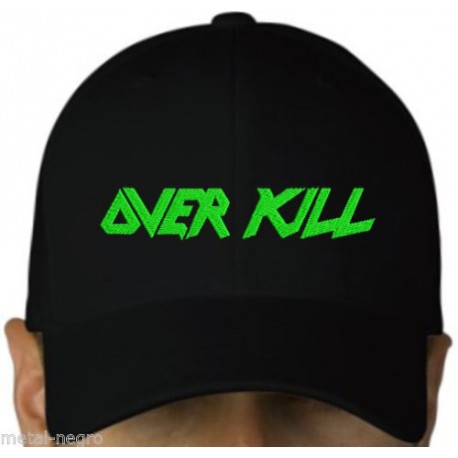Overkill embroidered cap