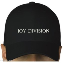 Joy Division embroidered cap