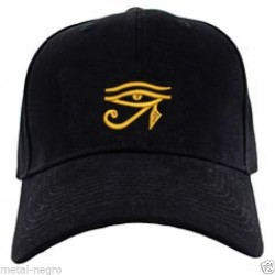 Eye of horus embroidered cap