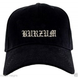 Burzum embroidered cap