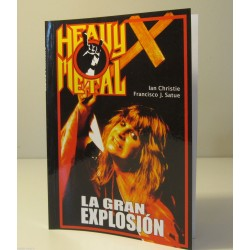 HISTORY OF HEAVY METAL 1 SPANISH EDITION BOOK IAN CHRISTIE FRANCISCO SATUE LIBRO