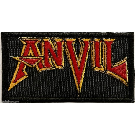 Anvil embroidered patch