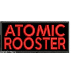 Atomic Rooster embroidered patch