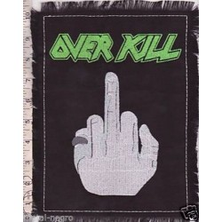Overkill Embroidered Back Patch