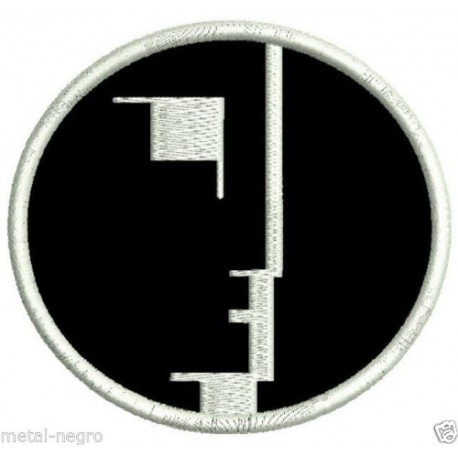 Bauhaus embroidered patch
