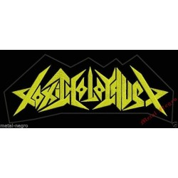 Toxic Holocaust Embroidered Back Patch