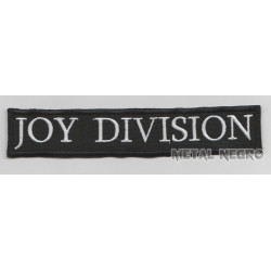 Joy Division Embroidered Patch