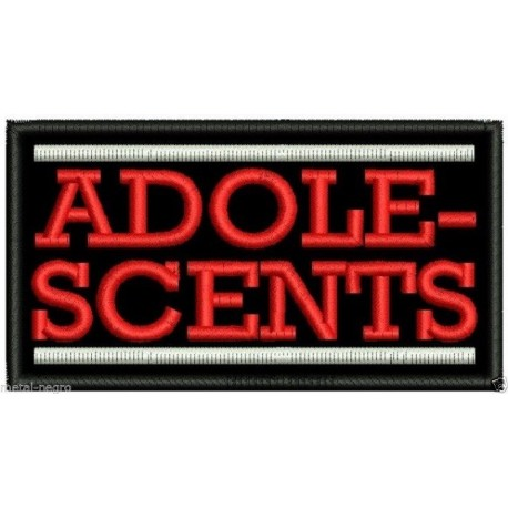 The Adolescents Embroidered Patch