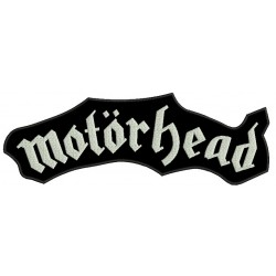 Motorhead Embroidered Back Patch