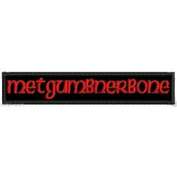 Metgumbnerbone Embroidered Patch