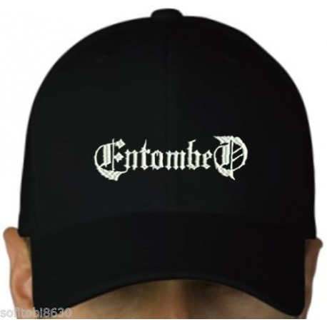 Entombed embroidered cap