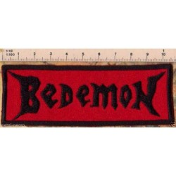 Bedemon Embroidered Patch