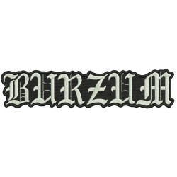 Burzum Embroidered Back Patch